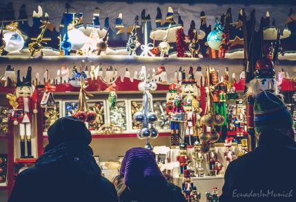 Christmas Ornaments in Marienplatz
